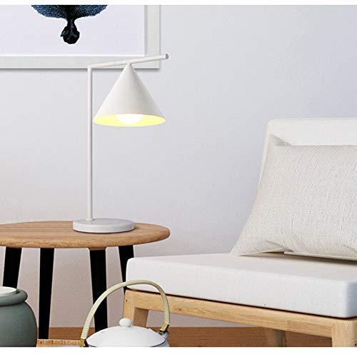 FAGavin Lectura Nórdica Protección De Los Ojos Estudio Creativo Simple De La Oficina Dormitorio Lámpara De Control Remoto De Hierro Forjado Lámpara De Mesa
