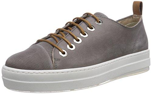 NOBRAND Damen Chamomile Sneakers, Grau (Alloy), 39