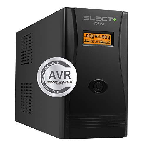 E-NUC Elect + UPS 725VA/400W VA Sistema SAI EL0001