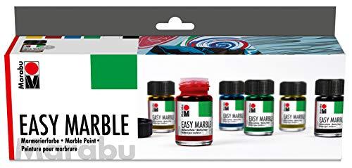 Marabu Easy Marble Paint Starter Set (MBU66053)
