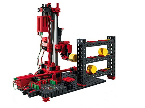 fischertechnik Roboter Bausatz TXT Automation Robots - 4 verschiedene Roboter-Modelle zum selbst programmieren - lerne wie realitätsnahe und vollfunktionsfähige Industrieroboter arbeiten