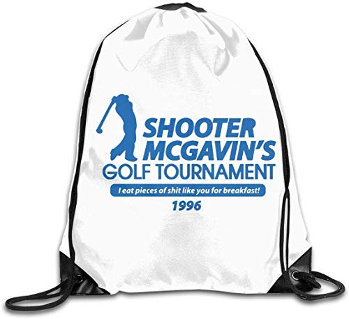 engzhoushi Turnbeutel,Sporttaschen,Schultasche Drawstring Bulk Bags Cinch Sacks Backpack Pull String Bags Shooter Mcgavin's Golf Tournament