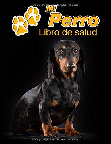 Mi Perro Libro de salud: Teckel de pelo corto | 109 páginas 22cm x 28cm |...