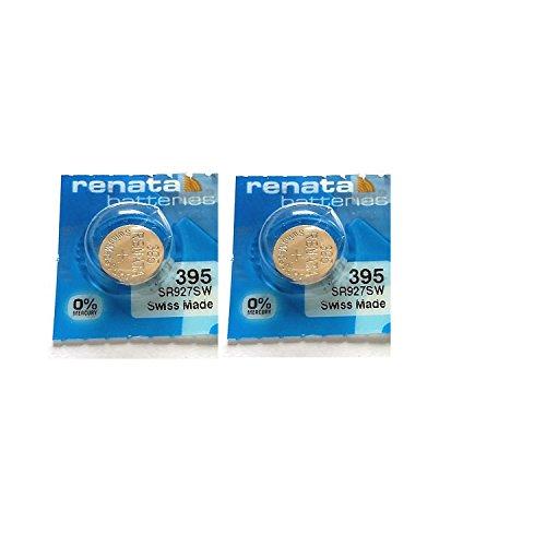 deux Pile 395 Renata pour Montre (SR927SW)