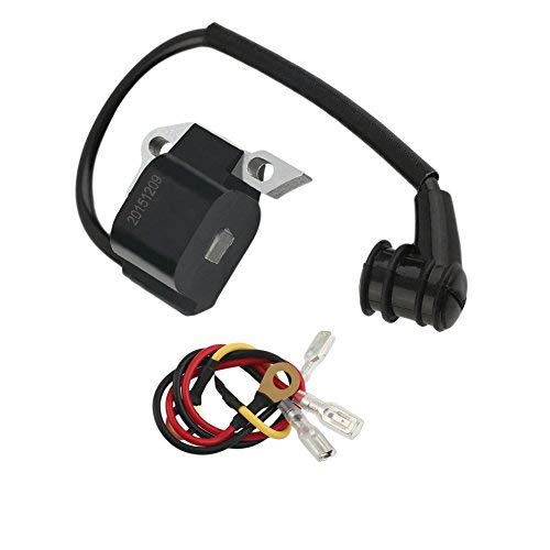 WANWU Bobina de Encendido y Cables para Motosierra STIHL 020 021 023 025 020T MS210 MS230 MS250