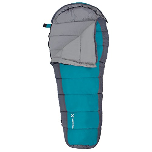 Winterial Kids Sleeping Bag / Youth Mummy Bag / Camp / Blue / Sleeping Bag Kids Boys