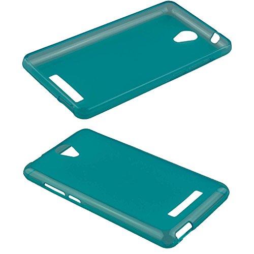 caseroxx TPU-Hülle für Archos 50 Platinum 4G, Tasche (TPU-Hülle in hellblau)