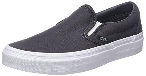 Vans Unisex-Erwachsene Classic Slip-on Slip On Sneaker, Grau (Mono Canvas), 42.5 EU
