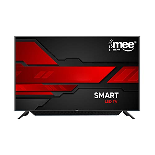 iMee 127 cm (50 Inches) 4K Ultra HD Smart Android LED TV With In-Built Soundbar MEE-50S18SB (Black) (2020 Model)