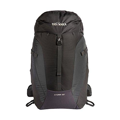 Tatonka Storm 30 - Wanderrucksack mit Rückenbelüftung und Regenhülle - für Männer und Frauen - 30 Liter - titan grey
