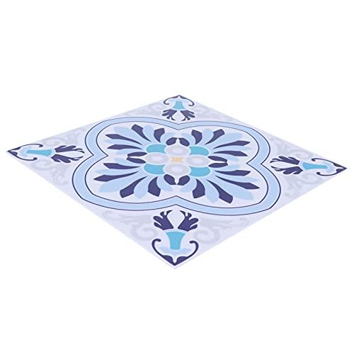 Adhesivo autoadhesivo para azulejos, 10PCS Calcomanías para azulejos de pared con película reflectante de espejo fácil de alta fidelidad para baño, cocina, sala de estar