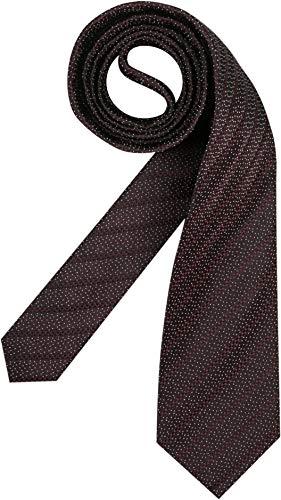 Joop! Herren Krawatte Herren-Accessoire Gemustert Rot Onesize