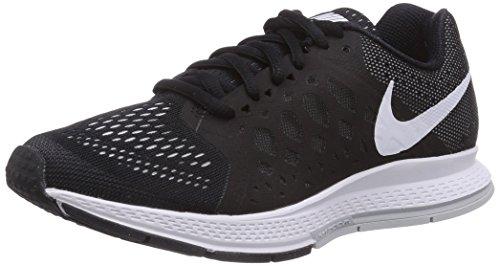Nike Womens Air Zoom Pegasus 31 Black/White Mesh Running Shoes 7.5 M US