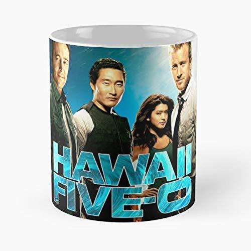 Hawaii Five O 50 Beach Vacation Crime Tv Shows - Best 11 oz Kaffee-Becher - Tasse Kaffee Motive