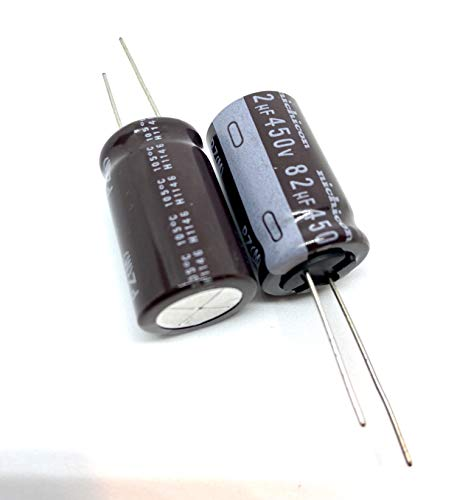 2X Snap-in Electrolytic Capacitor 220/µF 400V 105/°C ; LGN2G221MELZ45 ; 220uF
