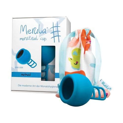 MERULA Menstrual Cup mermaid blau 1 St