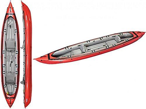 Gumotex - Seawave Rossa Kayak Gonfiabile 044119-R (5C/11C) C/PINNA GUMOTEX