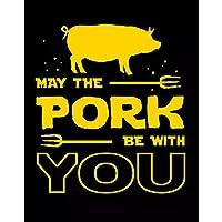 ポークがあなたと一緒にいるようにBBQHog Family Outdoors Foodie Metal Sign-20x30cm