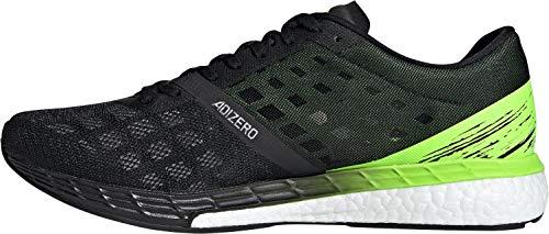 adidas Herren Adizero Boston 9 m Sneaker, Negbás/Negbás/Versen, 46 EU