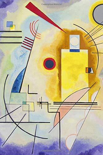 Kandinsky Journal #1: Cool Artist Gifts - Jaune Rouge Bleu Wassily Kandinsky Notebook Journal To Write In 6x9