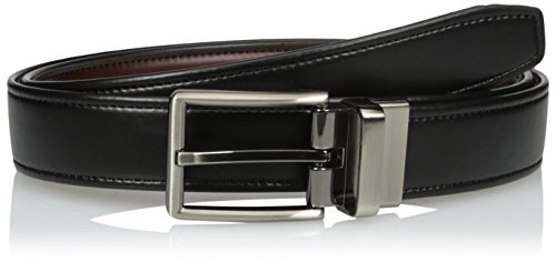 Dockers Men's Reversible Casual Dress Belt With Comfort Stretch,black/Cognac,Large