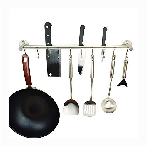 Meshouder van roestvrij staal, keukenmessenhouder voor wandmontage, multifunctionele snijplankhouder, keukenbenodigdheden h 2,36 inch 48.5Cm B