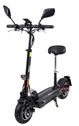 eFlux Lite Six Elektroroller Scooter - Mit Straßenzulassung - 1000 Watt Motor - LED Scheinwerfer - Bis zu 40 Km/h