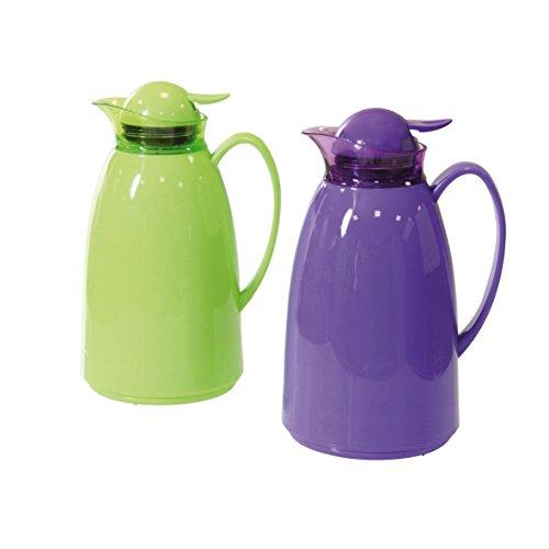 Isolierkanne 1 Liter Kaffekanne Teekanne