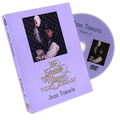 Murphy's The Greater Magic Video Library Volume 41-Juan Tamariz - DVD