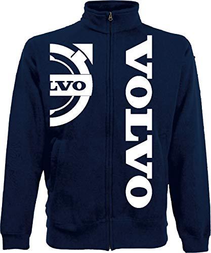 Generico Veste Volvo Logo Camion tir lkv Holland Style Camion Idée Cadeau de S à XXL et 4 Couleurs Disponible - Bleu Marine, XL