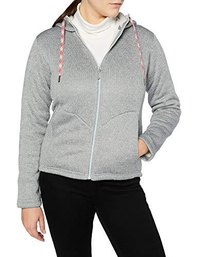 Lafuma - Cali Hoodie W - Fleecejacke für Damen - Warmes und atmungsaktives Material - Trekkin und Altag, Grau