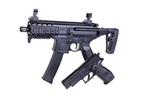 Sig Sauer Zwei Waffen Set SIG1 MPX + P226 Federdruck Pistole + Gewehr 6mm BB <0,5 J Airsoft Waffe