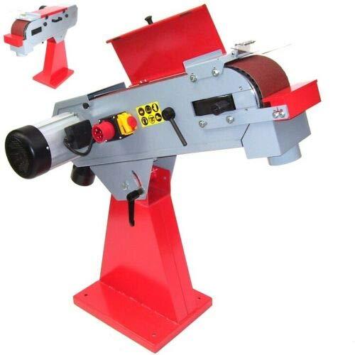Bandschleifmaschine Bandschleifer 150x2000-55688- Metallband Schleifmaschine AWZ