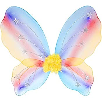 SMALL CHILDS FAIRY WINGS FANCY DRESS KIDS TODDLER WING BUTTERFLY WING UK