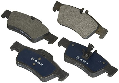 Bosch BP1424 QuietCast Premium Semi-Metallic Disc Brake Pad Set For Select Mercedes-Benz CL550, CL600, CLS400, CLS550, E250, E300, E350, E400, E550, S350, S550, S600, SL550; Rear