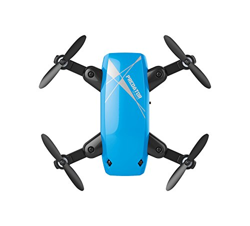 Eerste Drone DR200 selfie Predator, wifi-camera, kleur blauw (DR200PREDATORSELFIE)