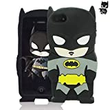 Aristo, Tribute Dynasty, Fortune Case Cute Batman 3D Cartoon Soft Silicone Animal Rubber Shockproof Anti-Bump Protector Lovely Kids Girls Gifts Cover Compatible with LG Phoenix 4/ K8 2017/Aristo