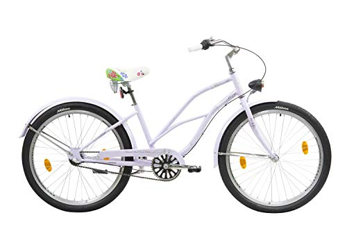 Leader Lazy Bici Crucero, Women's, Lila, 26''