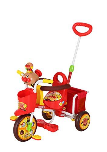 おでかけ三輪車 わくわくアンパンマンごう ピースII レッド
