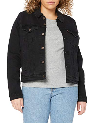 Levi's Original Trucker Chaqueta Vaquera, Black Lilly, Small para Mujer