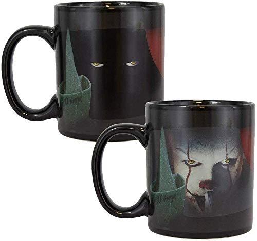 Paladone Pennywise PP5155IT Kaffeebecher mit Wärmewechsel, aus Keramik, 300 ml