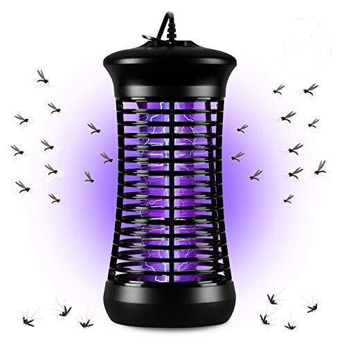 Elektrischer Insektenvernichter, AUERVO Moskitoschutz Insektenvernichter Mückenlampe mit 6W UV-Licht Moskito Zapper Anti Mücken Mückenlicht für Innen