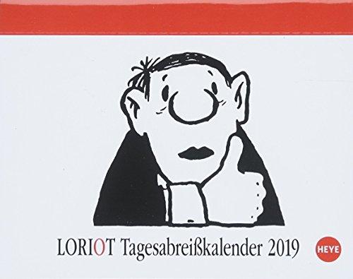 Loriot Tagesabreißkalender - Kalender 2019