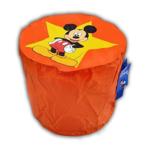 Pouf Mickey Mouse Disney orange ø 45cm