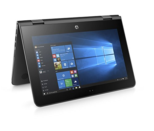 HP Stream x360 11-aa002na 11.6-inch Touch Screen Convertible Laptop (Jack Black)...