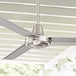 Plaza Modern Industrial Outdoor Ceiling Fan