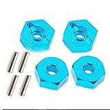 vige 4 Pezzi Dadi esagonali in Lega di Alluminio con mozzi di azionamento perni 12mm Adatt...