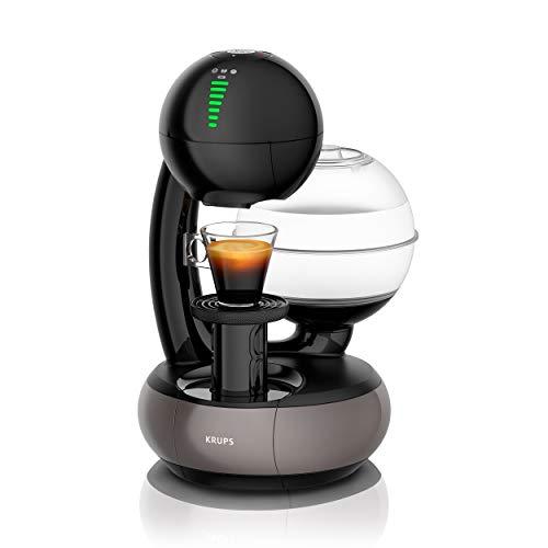 Krups KP3108 Nescafé Dolce Gusto Esperta Kaffeekapselmaschine (1500 Watt, Wassertankkapazität: 1,4l, Pumpendruck: 15 Bar) schwarz/titan-grau