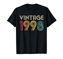 Celebrate your 23rd birthday because you're vintage, original, and a legend. This 1998 23rd Birthday shirt 23 Years of Being Awesome gift idea for a 23rd birthday. January February March April May June July August September October November December....