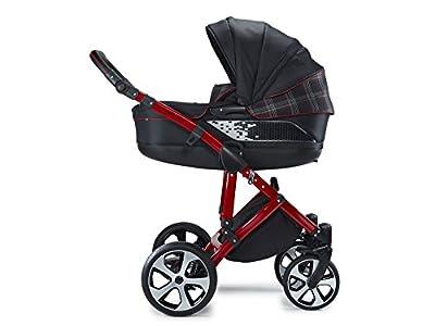 Carro para niños original Volkswagen GTI, carrito combinado diseñado por Volkswagen Design en colaboración con Knorr Baby